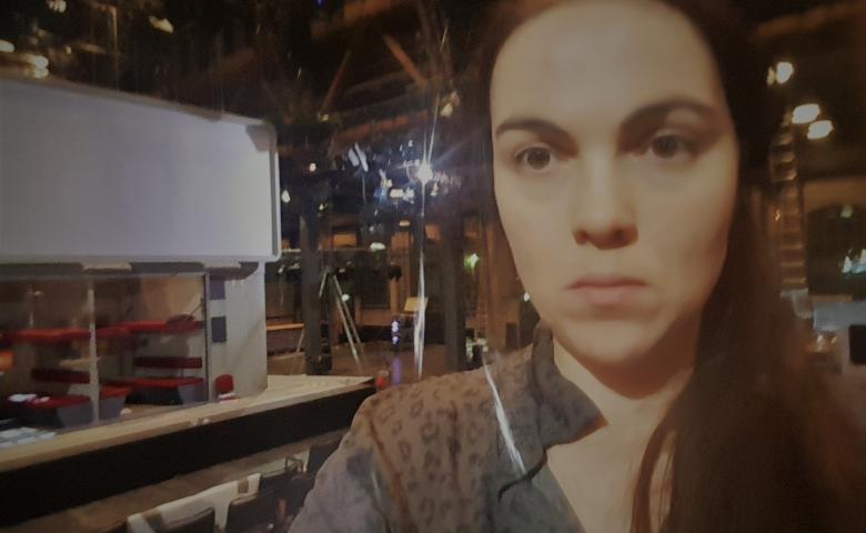 Das Ministerium der verlorenen Züge Schauspiel Frankfurt Rebekka Waitz