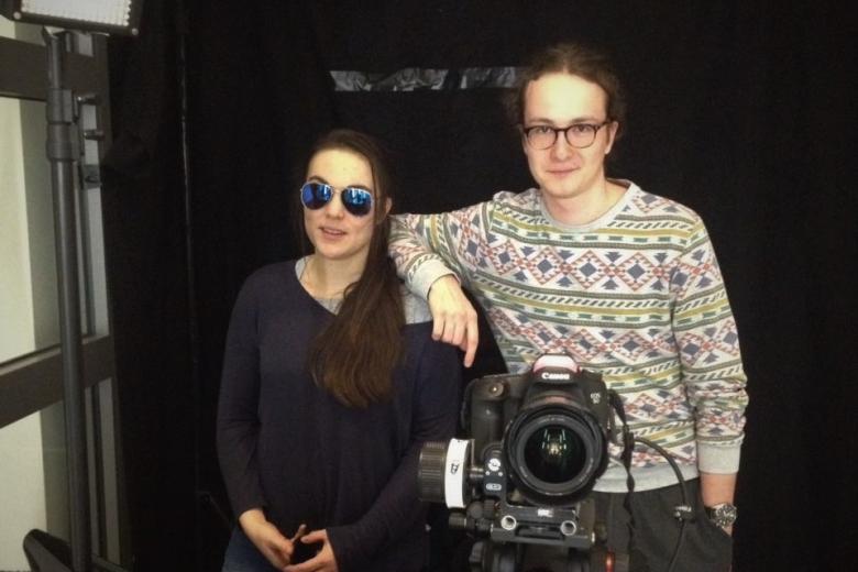 Rebekka Waitz Filmset Liftboy Crew